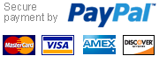Secure online payment powered by Paypal
